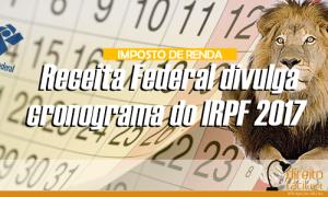 imposto de renda cronograma.fw
